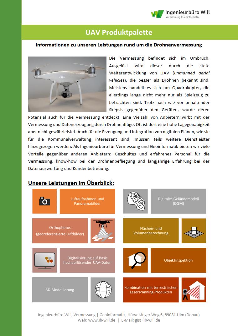 Flyer UAV Allgemein